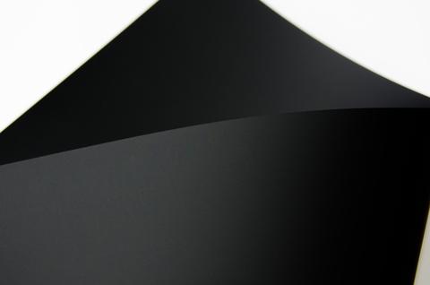 Кардсток черный 300 гр 30х30 см