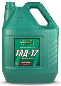 OIL RIGHT ТАД 17 Минеральное трансмиссионное масло