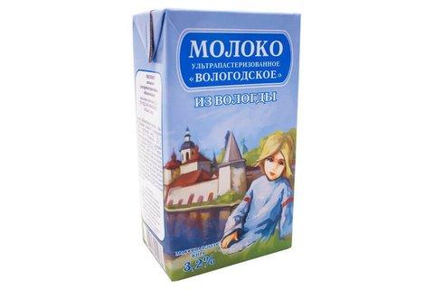 Молоко Вологодское