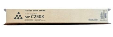 Оригинальный картридж Ricoh MPC2503 Bk 841925 черный