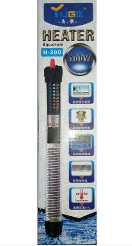 Нагреватель аквариумный с регулятором H-200, 100w