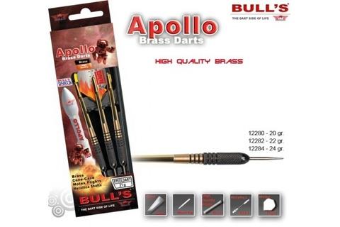 Дротики для дартса (3шт.) Bull's Apollo, латунь, 24g (артикул 12284)