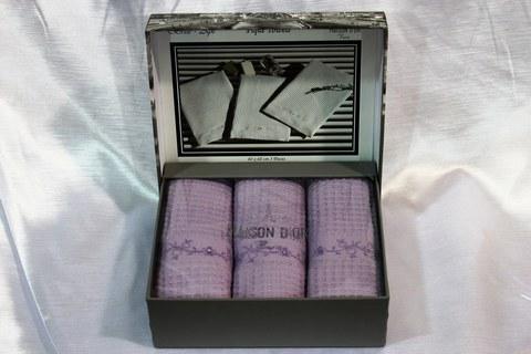 Набор вафельных салфеток  BRISE APE - БРИС АПЭ размер 40*60 Maison Dor (Турция)