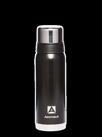 Термос Арктика (0,75 литра) с узким горлом американский дизайн, черный