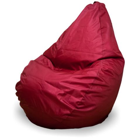 Кресло-мешок груша  L, Оксфорд Бордовый
