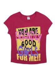 BK002F-50 футболка для девочек, малиновая