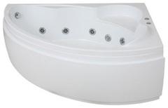 Ванна акриловая Bas Лагуна 170х110х60,5, угловая асимметричная (правая), с гидромассажем