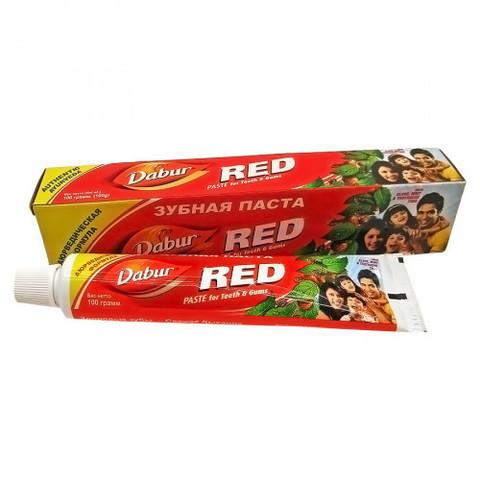 Зубная паста аюрвед Red Dabur Ред Индия 100г