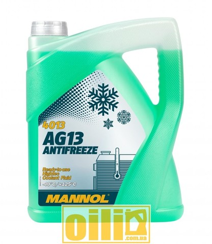 Mannol 4013 Antifreeze AG13 -40°C Hightec 5л