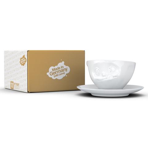 Чайная пара Tassen Tasty 200 мл белая