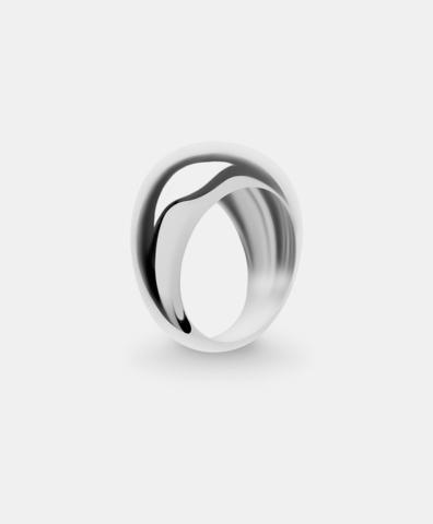 Кольцо Hollywood silver