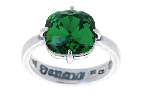 Кольцо с серебрением Флегра