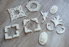 Пластиковый декор для творчества, 1 шт.