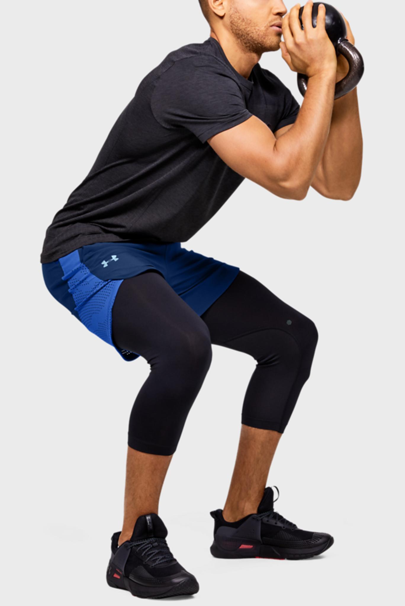 Мужские синие шорты Stretch-Woven Under Armour