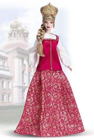 Барби Русская красавица
