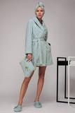Короткий махровый халат с люрексом Luna di Giorno