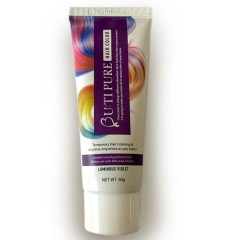 Тонирующий бальзам для волос Bu:ti Pure Hair Color Luminous Violet светящийся фиолетовый 60 гр