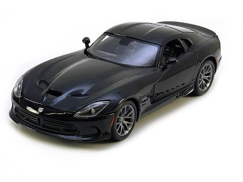 Коллекционная модель Dodge Viper GTS SRT 2013 Black
