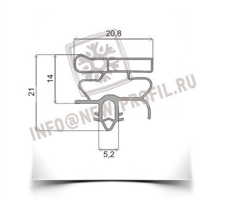 Уплотнитель для холодильника  Electrolux ERB8648 х.к 1020*570 мм (010)
