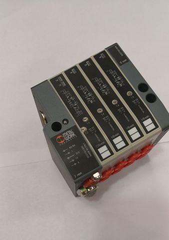 10775 Блок пневматических электромагнитных клапанов для выходных ворот10775 Блок пневматических электромагнитных клапанов для выходных ворот в доильном зале,параллель, елочка с быстрым выходом