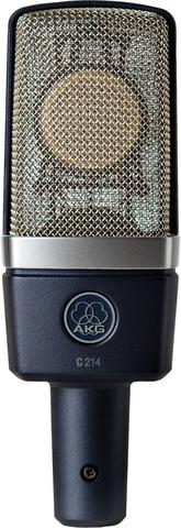 AKG C214 конденсаторний мікрофон