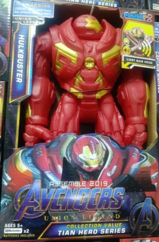 Массивный Железный-человек. Фигурка супер-героя со звуком