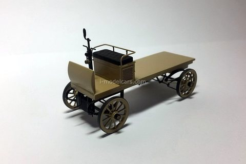 First Russian truck design Frese 1901 Handmade workshop 1:43