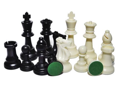 Фигуры шахматные (пластмассовые): 35