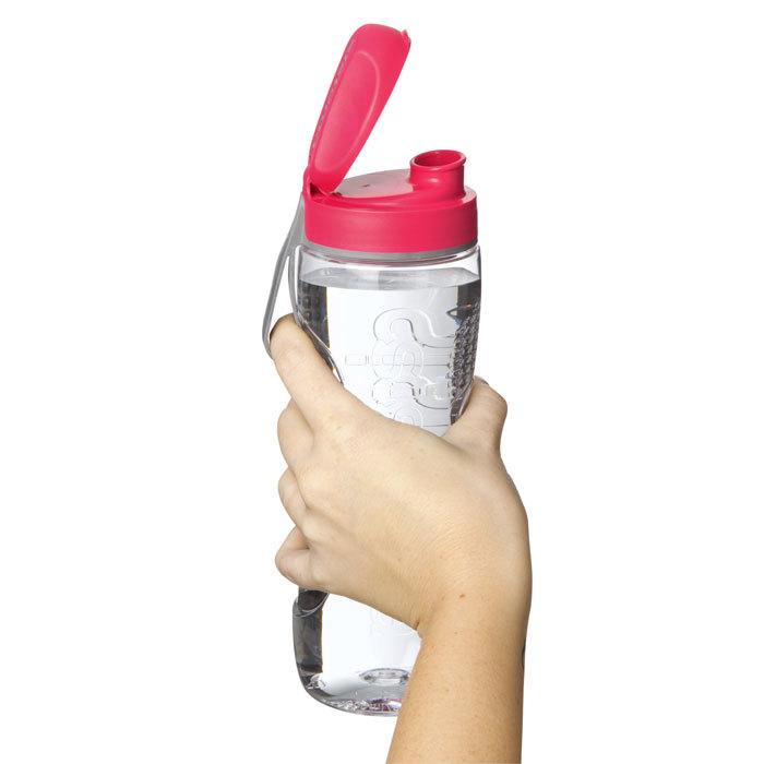 """Бутылка для воды Sistema """"Hydrate"""", Тритан, 800 мл, цвет Красный"""
