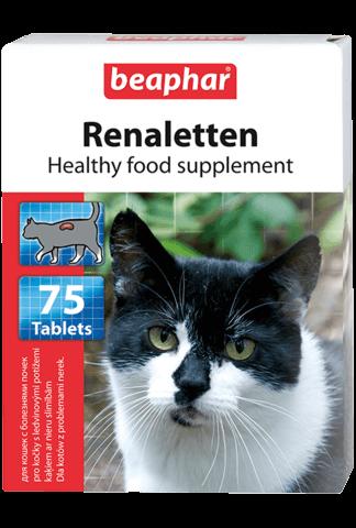 купить бефар Beaphar Renaletten кормовая добавка для кошек с почечными проблемами