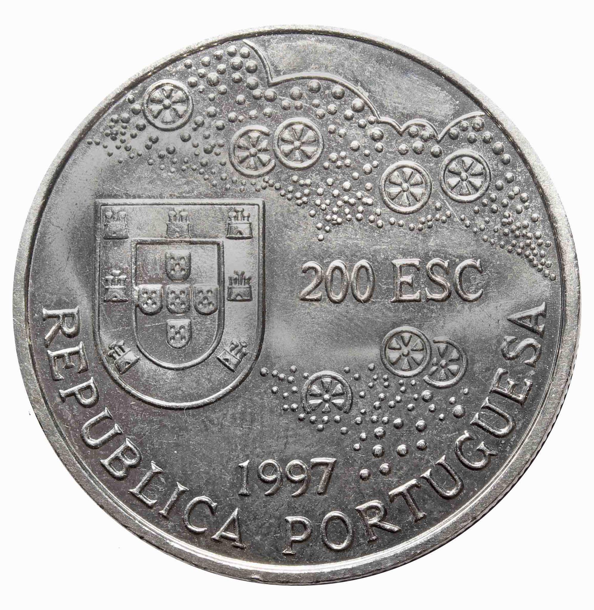 200 эскудо 1997 года