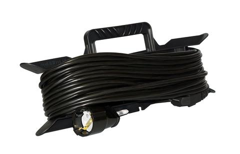 Удлинитель электрический на рамке 50 м 1 розетка (1,5)