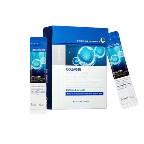 [Farmstay] Ночная маска с коллагеном -Collagen water full moist Sleeping Pack 1 шт саше