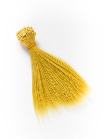 Волосся для ляльки, Let's make треси 15 см. Пшеничний Блонд