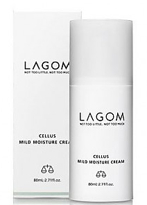 LAGOM Cellus Mild Moisture Cream мягкий увлажняющий крем 80мл