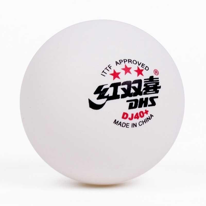 Пластиковые мячи DHS 3* DJ40+ (6шт) WORLD TOURNAMENT