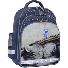 Рюкзак школьный Bagland Mouse 321 серый 165 (00513702)