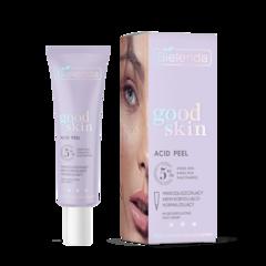 GOOD SKIN ACID PEEL Микро-отшелушивающий корректирующий и нормализующий крем с AHA + PHA кислотами и ниацинамидом, 50 мл