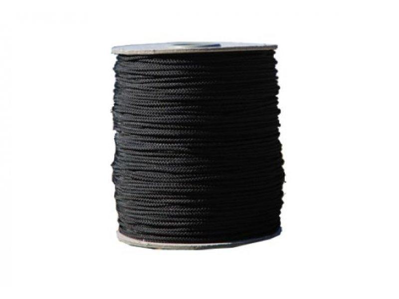 Линь picasso нейлоновый 1,8мм, шпуля 100м, черный  (цена за 1 м)