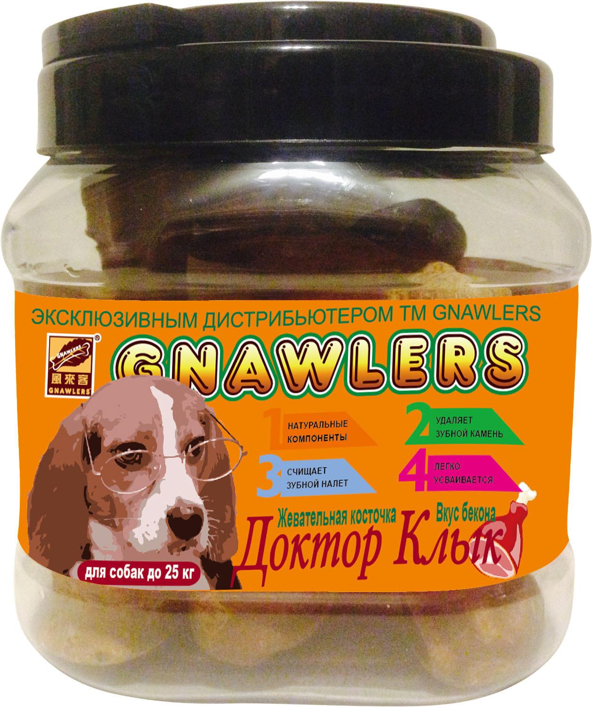 Лакомства Лакомство для собак до 25 кг Green Qzin Жевательная косточка Доктор Клык со вкусом бекона 361855567.jpg