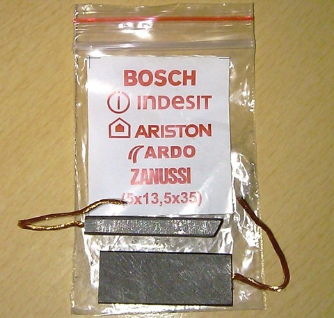 Щетки угольные 5x13.5x35, комплект 2 шт, универсальные