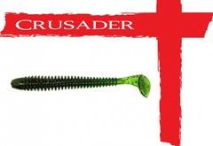Виброхвост Crusader No.02 80мм, цв.001, 10шт.
