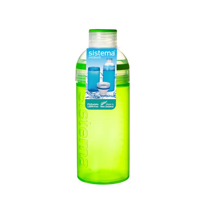 """Бутылка для воды Sistema """"Hydrate"""" 700 мл, цвет Зеленый"""