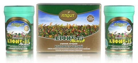 Чай Алфит-Актив № 13 климактерический, 60 бр. (Гален)