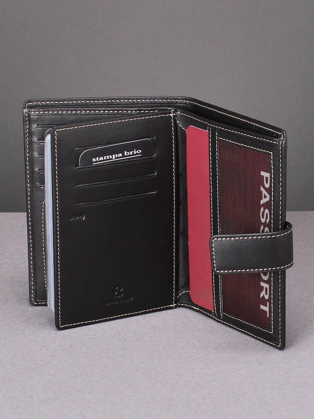 135 R - Портмоне 4в1 с отделениями для документов и RFID защитой