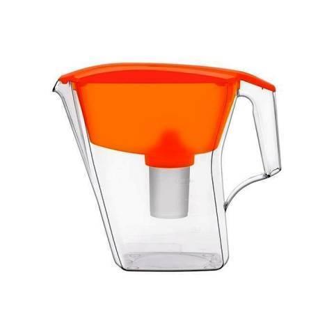 Водоочиститель Кувшин модель Аквафор Лайн (оранжевый)