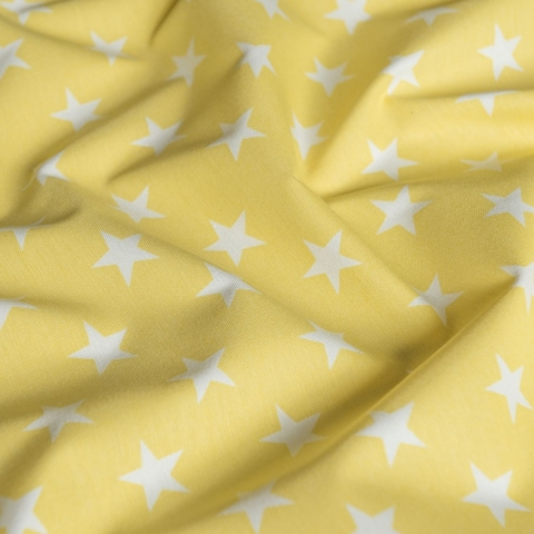 Ткань хлопок Сири желтый