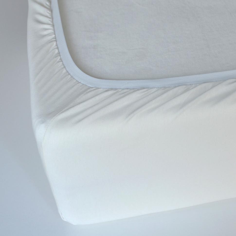TUTTI FRUTTI ваниль - Двуспальная простыня на резинке