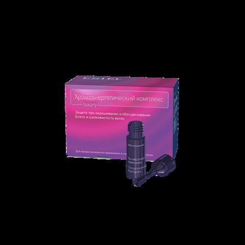 Хромоэнергетический комплекс (Эмульсия для защиты волос при окрашивании и обесцвечивании), 1 ампула по 5 мл