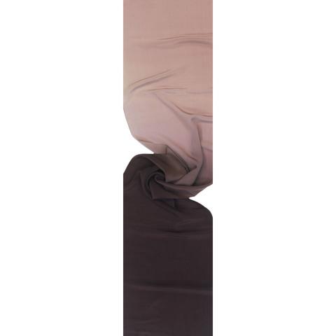 Шелковый шарф батик Какао С-21